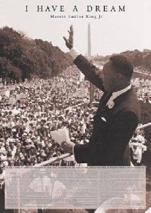 Martin Luther King I Have A Dream Speech Poster A0057