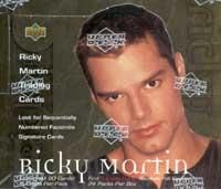 Ricky Martin Upper Deck Trading Card Box