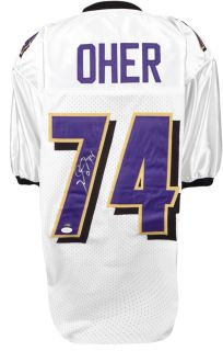 Michael Oher Signed Jersey Witness JSA Certified