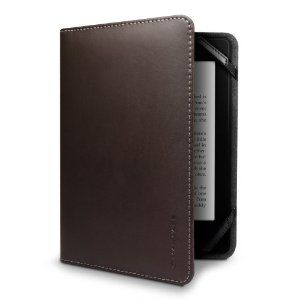 Marware Eco Vue Genuine Leather Case Cover for Kindle Brown Paperwhite