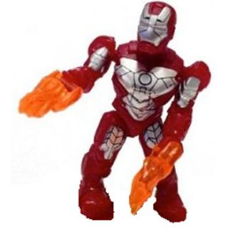 Mega Bloks Marvel Micro Mini Action Figure Series 2 Iron Man Mark V