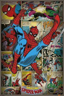 Marvel Comics Retro Poster Spider Man New Comic Book Poster