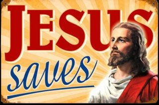 Jesus Saves Blechschild Maria Holy Mary Lady Sacred Heart Pope Schild