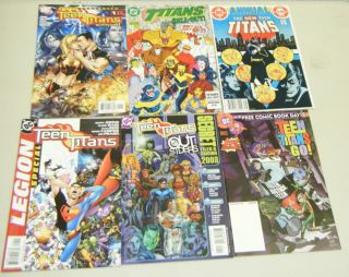 Teen Titans Specials 6 Issues Marv Wolfman Ed Benes