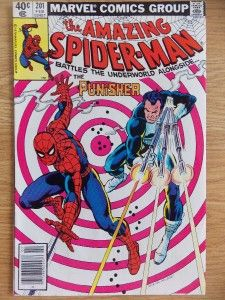 Amazing Spider Man 201 1979 9 4 Bronze Age Punisher App Romita Cover
