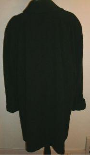 Womens Plus Size Marvin Richards Black Wool Swing Coat 2X