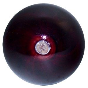 Glass Marble Mark Matthews Copper Ruby Red Gumball Marble
