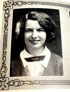 School Yearbook St Louis MO Mary Wickes Actress Senior Year
