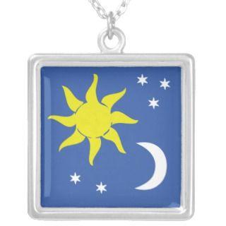 Sun Moon Stars Necklaces