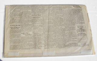 1930 Newspaper Headline School Teacher Murderd Negro Ends Up Executed
