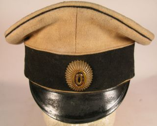 Russian Civil War White Army Officer Visor Cap Markov Regiment