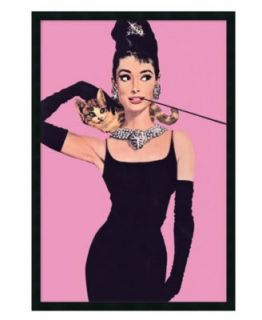 Amanti Art Wall Art, Audrey Hepburn Breakfast at Tiffanys Framed