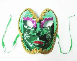 Luxury Full Face Venetian Glitters Halloween Masquerade Party Ball