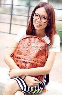 Women Fashion PU Leather Backpack School Bag Blue Brown Beige White