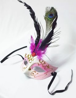Peacock Feather Venetian Halloween Masquerade Party Ball Mask Choices