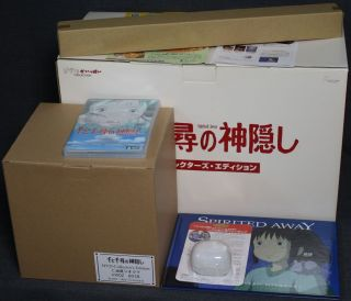 Spirited Away JP DVD Box Collectors Edition Ghibli KW
