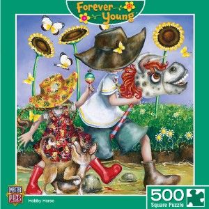 Masterpieces Forever Young Hobby Horse Jigsaw Puzzle 500 PC