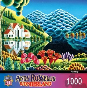 Masterpieces Andy Russells Wonderland Wishing Jigsaw Puzzle 1000 PC