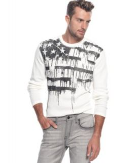 Marc Ecko Cut & Sew Shirt, Shattered Thermal   Mens