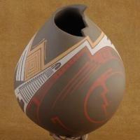 Mata Ortiz Museum Quality Polychrome Pottery J Quezada
