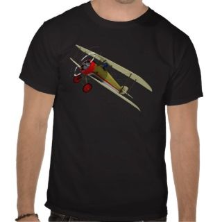 Sopwith Camel and Pilot Tee Shirt