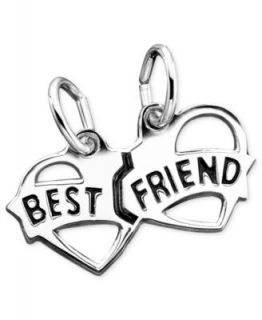 14k Gold Charm, Best Friends Puzzle Break Apart Charm