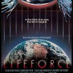 Lifeforce 1985 Original U s One Sheet Movie Poster