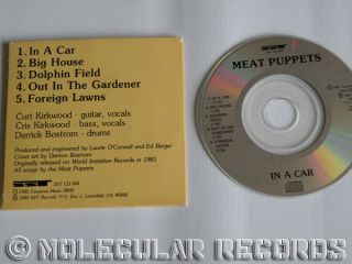 Mea Puppes in A Car 5 rack 3 USA Mini CD Single SS