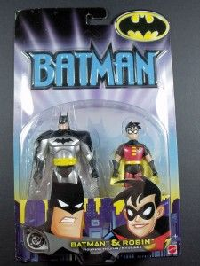 Batman Robin The Animated Series 4 75 Action Figure by Mattel