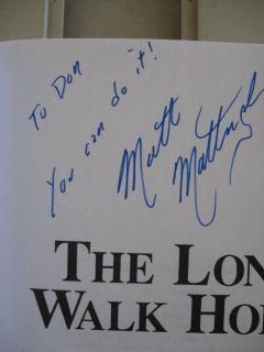 The Long Walk Home Matt Mattingly Signed
