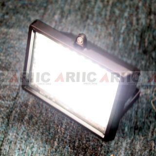 LED Motion Flood Hight Light 54 LED Bright White 3 Way Powered