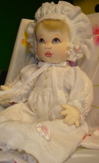 Original Signed Cloth Doll by Kezi Matthews Baby Anne