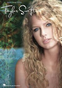 Taylor Swift Piano Vocal Guitar Chords Sheet Music Book