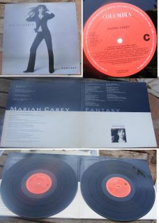 Mariah Carey Fantasy Holland 2 12 1995 Mint 9 Mixes in All