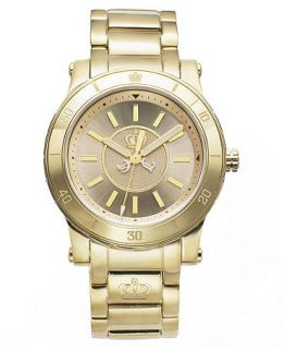 Juicy Couture Watch, Womens HRH Gold Tone Stainless Steel Bracelet