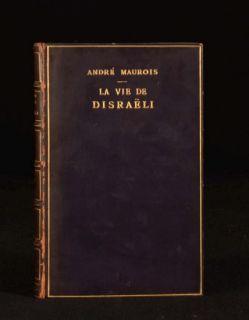 1927 Le Vie de Benjamin Disraeli Andre Maurois