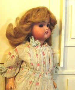 Antique Kammer Reinhardt 11 Bisque Head Doll Walker Body
