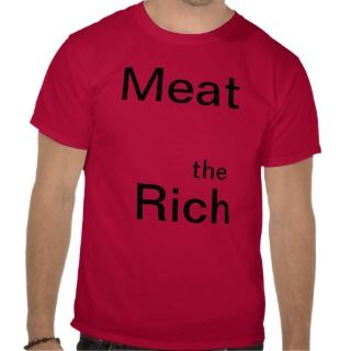 Meat the Rich Fantasy Band Shirt