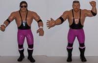 WWF WWE LJN Wrestling Figure Loose Lot Hart Foundation Bret Jim Anvil