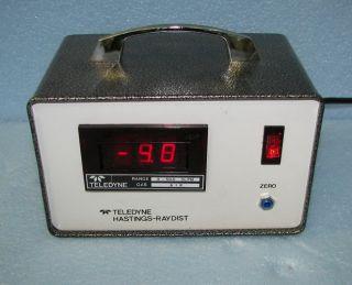 Hastings Flowmeter Teledyne Gas Pressure Regulator