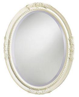 Howard Elliott Queen Ann Antique White Mirror   Mirrors   for the