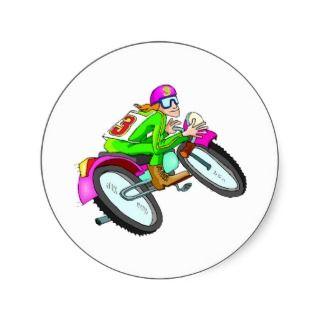 motocross stickers on popscreen