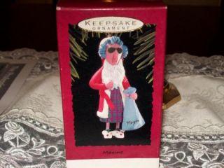Hallmark Maxine as Santa Claus Christmas Keepsake Ornaments