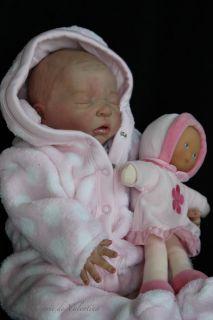 Reborn Baby Girl Kit Maurice Evelina Wosnjuk Doll