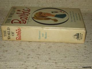 Vintage Barbie Random House Book The World of Barbie Circa 1962