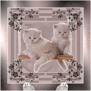 MAYORAL* Girls Winter 2013 Grey Wool Blend Dress with Kitten age 24