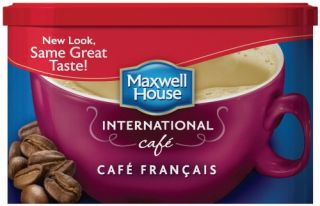 Maxwell House International Cafe Coffee Cafe Francais 7 6 oz Each