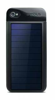 Eton Mobius Rechargeable Solar Phone Case Works w iPhone 4S