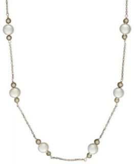 Effy Collection Pearl Necklace, 14k Gold Cultured Freshwater Pearl and