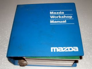 1993 93 Mazda Navajo Factory Shop Service Repair Manual